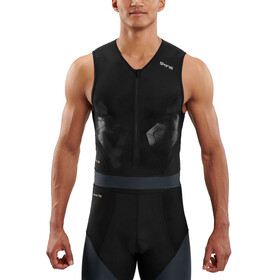 Skins DNAmic Triathlon SL Top Men black/carbon